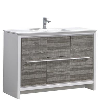"Fresca FCB8148XXI Allier 48"" Modern Bathroom Cabinet w/ Sink"