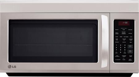 LG LMV1813ST 1.8 cu. ft. Capacity Over the Range Microwave Oven