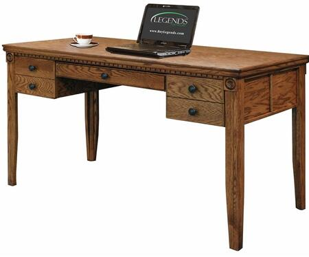 Legends Furniture SD6210RST Scottsdale Series Writing  Wood Desk