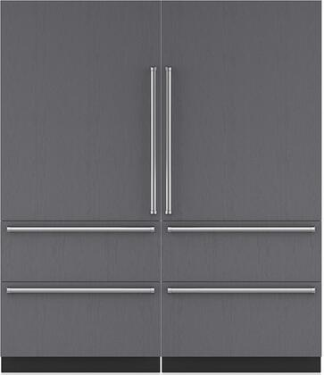 Sub-Zero 710435 Side-By-Side Refrigerators
