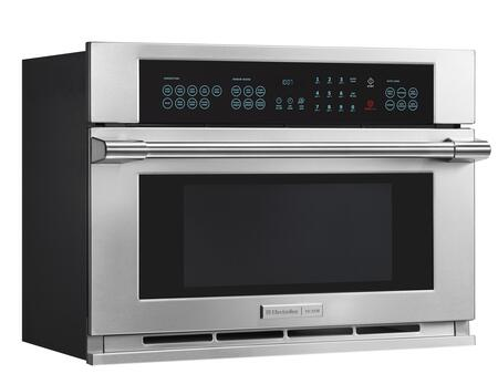 electrolux icon e30mo75hps built in microwave oven appliances electrolux icon professional side view control panel illuminated