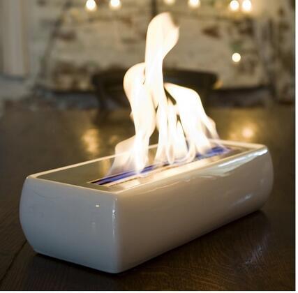 Brasa BR03WH Avani Series  Bioethanol Fireplace