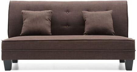 Glory Furniture G409S Newbury Series Fabric Stationary Loveseat