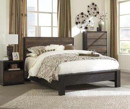 Milo Italia BR462QPBBEDROOMSET Huffman Queen Bedroom Sets