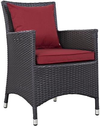 Modway EEI1913EXPRED Convene Series  Patio Arm Chair