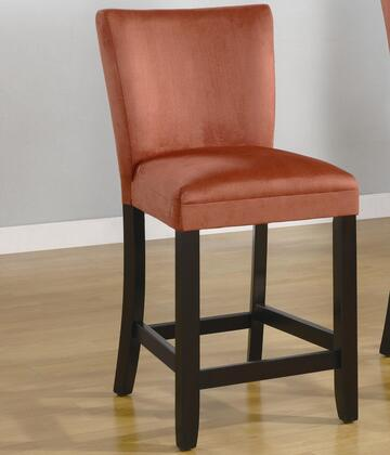 Coaster 100589RED Bloomfield Series Residential Fabric Upholstered Bar Stool
