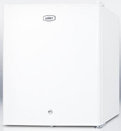 Summit FFAR22LW7  Compact Refrigerator with 1.6 cu. ft. Capacity in White