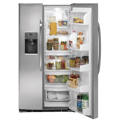 GE GSHS6NGBSS Freestanding Side by Side Refrigerator