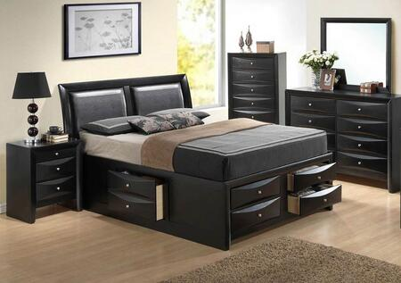 Glory Furniture Marilla 5 Piece King Size Bedroom Set