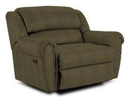 Lane Furniture 21414102530 Summerlin Series Transitional Fabric Wood Frame  Recliners