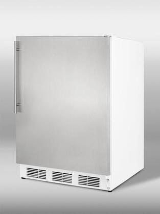 Summit CT66SSHV  Compact Refrigerator with 5.1 cu. ft. Capacity in Stainless Steel