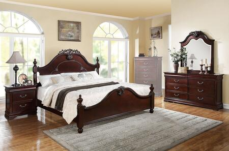 Acme Furniture 21857EK4PCSET Gwyneth King Bedroom Sets