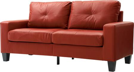 Glory Furniture G465AS Newbury Series Modular Faux Leather Sofa