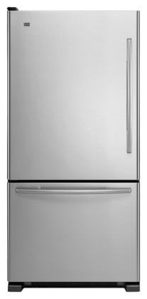 Maytag MBL2258XES  Bottom Freezer Refrigerator with 21.9 cu. ft. Total Capacity 6.3 cu. ft. Freezer Capacity 5 Glass Shelves  |Appliances Connection