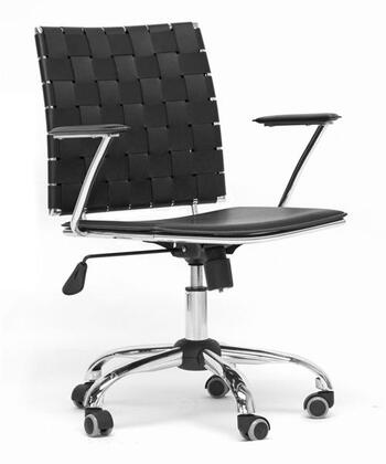 "Wholesale Interiors ALC1866CBLACKOC 23.625""  Office Chair"