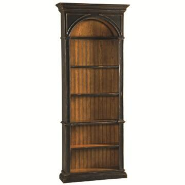 Ambella 02216800001Agatha Series Wood 5 Shelves Bookcase