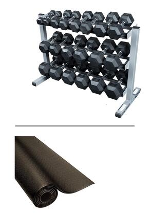 Body Solid SDRS550GDR363RF34B Dumbbells