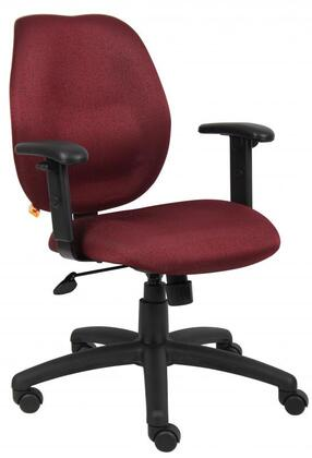 """Boss B1014BY 26"""" Adjustable Contemporary Office Chair"""