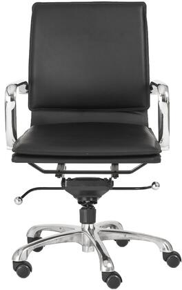 "Euro Style 01263BLK 22.75"" Contemporary Office Chair"