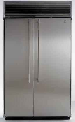 Northland 36SSWB  Counter Depth Side by Side Refrigerator with 23.0 cu. ft. Capacity in Black Door Panels