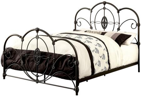 Furniture of America CM7709BKQ Jania Series  Queen Size Bed