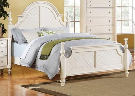 Acme Furniture 20250Q Coastal Lighthouse Series  Queen Size Poster Bed