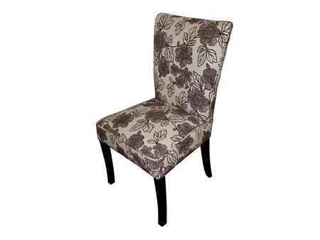 Stein World 12142 Armless Fabric Wood Frame Accent Chair