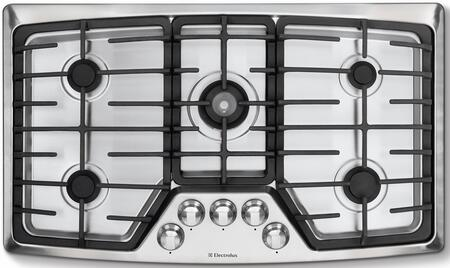 Electrolux EW36GC55GS Wave-Touch Series Gas Sealed Burner Style Cooktop