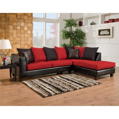 Flash Furniture RS-4184-0XSEC-GG Riverstone Microfiber Sectional