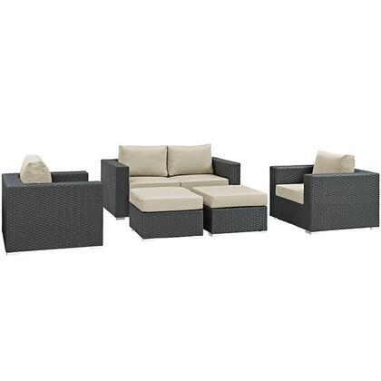 Modway EEI1879CHCBEISET  Patio Sets