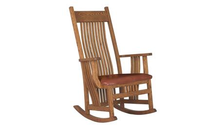 Chelsea Home Furniture 313004GRAIN  Wood Frame Fabric Rocking Chair