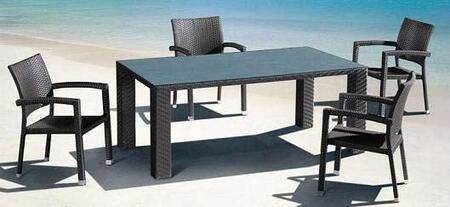 Global Furniture USA T077RECDTSET Patio Tables