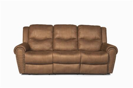 Coaster 600691 Morey Series Stationary Microfiber Sofa