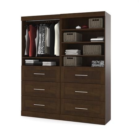 "Bestar Furniture 26856 Pur by Bestar 72"" Classic kit"