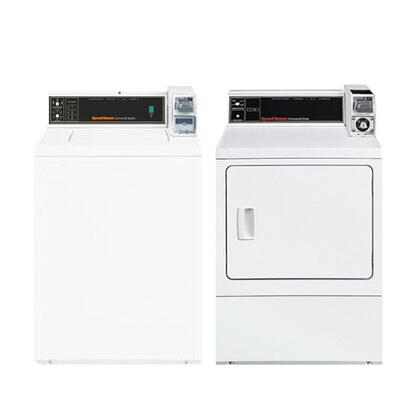 Speed Queen SWNMN2PAIR2 Washer and Dryer Combos