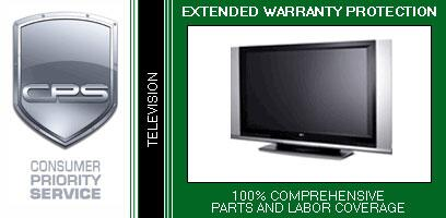 Consumer Protection Service TVH3x 3 Year Warranty on TV/Monitor for In-Home Products
