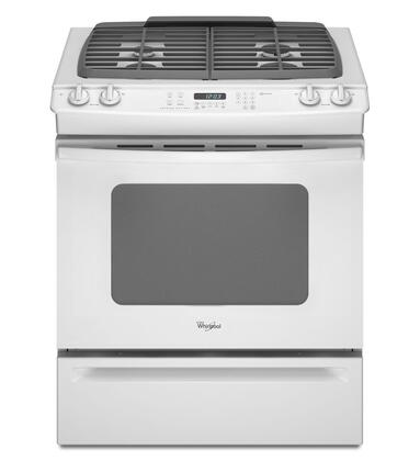 Whirlpool GW397LXUQ Slide-in Gas Range |Appliances Connection