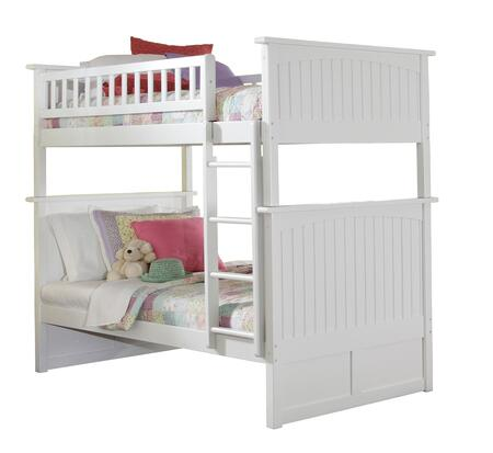 Atlantic Furniture AB591 Nantucket Bunk Bed Twin Over Twin