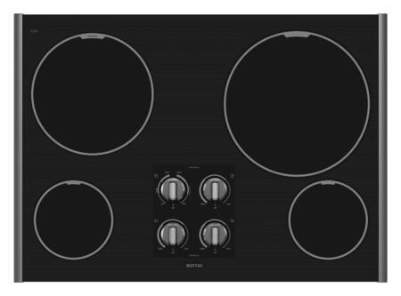 Maytag MEC7430WS  Electric Cooktop