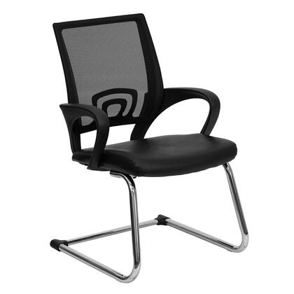 "Flash Furniture CPD119A01BKGG 22.75"" Contemporary Office Chair"