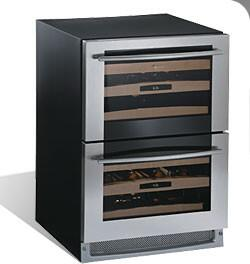 "U-Line 2275DWRWS00 23.9375"" Built-In Wine Cooler, in Stainless Steel"