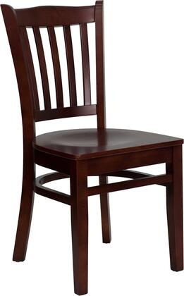 Flash Furniture XUDGW0008VRTMAHGG Hercules Series Contemporary Not Upholstered Wood Frame Dining Room Chair