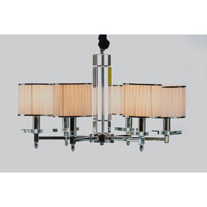 6 Light Crystal Chandelier LM7829 6