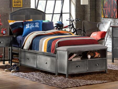 Hillsdale Furniture 1265BFSB Urban Quarters Series  Full Size Storage Bed