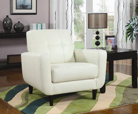 Coaster 900207  Leather Like Vinyl Accent Chair