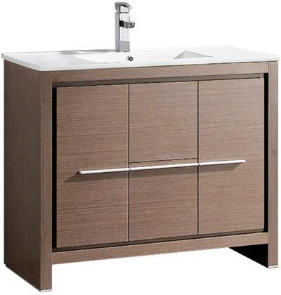 """Fresca FCB8140XXI Allier 40"""" Modern Bathroom Cabinet w/ Sink in"""