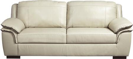 Milo Italia MI380531VANI Caiden Series  Leather Sofa