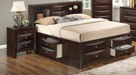 Glory Furniture G1525GQSB3N G1525 Queen Bedroom Sets