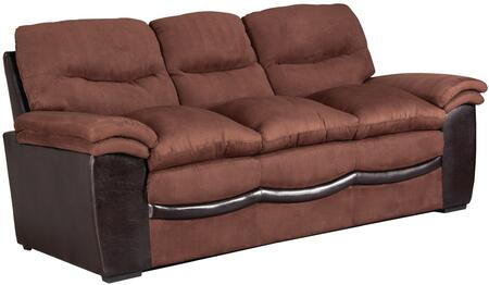 Glory Furniture G195S  Stationary Bonded Leather Sofa