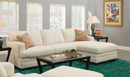 Acme Furniture 52315 Norell Series Stationary Fabric Sofa